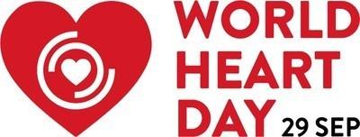 World Heart Day - September 29th, 2020 (PRNewsfoto/World Heart Federation)