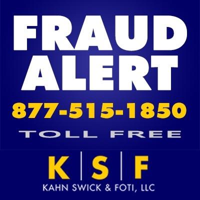 (PRNewsfoto/Kahn Swick & Foti, LLC)