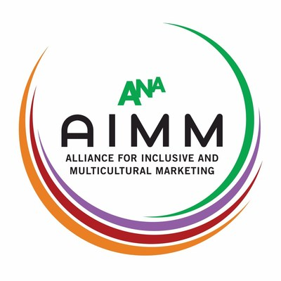 ANA's Alliance for Inclusive and Multicultural Marketing (AIMM) Logo (PRNewsfoto/ANA's Alliance for Inclusive and Multicultural Marketing (AIMM))
