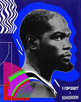 Boardroom & Dapper Labs Announce Multi-Year Brand Deal to bring creative collaborations between Thirty Five Ventures, Durant & NBA Top Shot including NBA Top Shot Moments created and curated by Kevin Durant (CNW Group/Dapper Labs, Inc.)