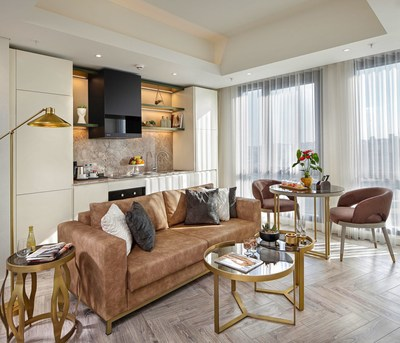Living room of Wanda Vista Residence