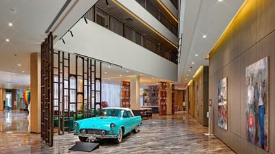 Hotel lobby of Wanda Vista Istanbul