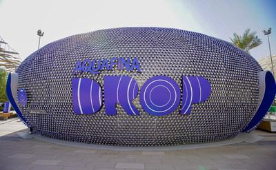 The Drop (Aquafina®) pavilion at Expo 2020 Dubai
