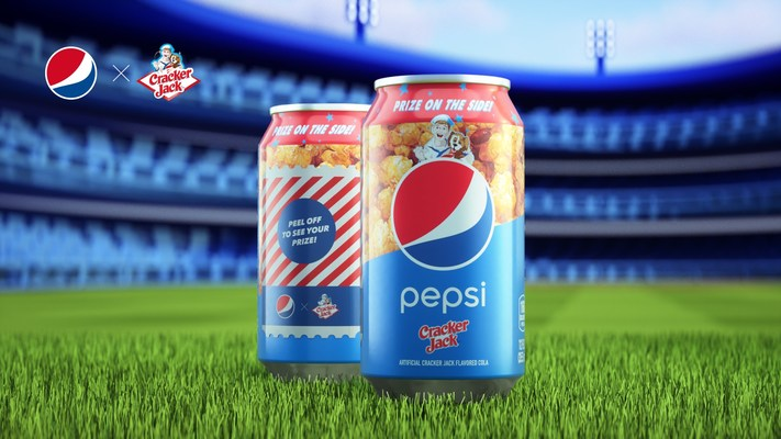 PEPSI® Unveils New Limited-Edition Pepsi x Cracker Jack Flavored Cola in Celebration of October Baseball
