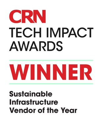 Schneider Electric Wins 'Sustainable Infrastructure Vendor of the Year' at the CRN UK Tech Impact Awards (CNW Group/Schneider Electric Canada Inc.)
