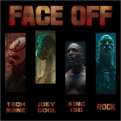 """FACE OFF"" SINGLE COVER ART (PRNewsfoto/Tech N9ne)"