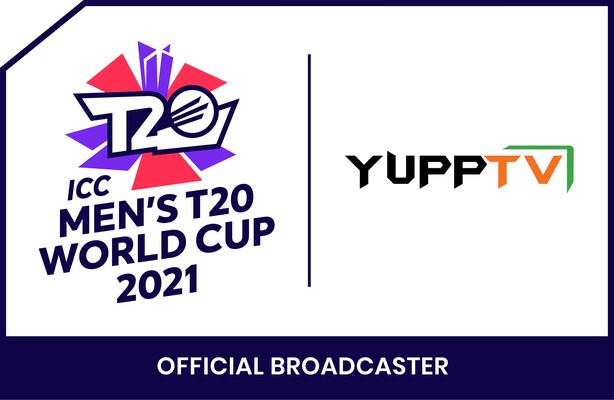 YUPPTV BAGS BROADCASTING RIGHTS FOR ICC MEN'S T20 WORLD CUP 2021 FOR 70 COUNTRIES (PRNewsfoto/YuppTV)
