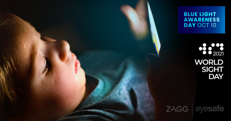 ZAGG and Eyesafe are embarking on joint initiative aimed at raising public awareness around the potential health risks posed by exposure to high-energy blue light. Blue light is given off by all digital devices, such as smartphones and computers, and may contribute to a variety of health concerns, including sleep disruption and digital eyestrain.